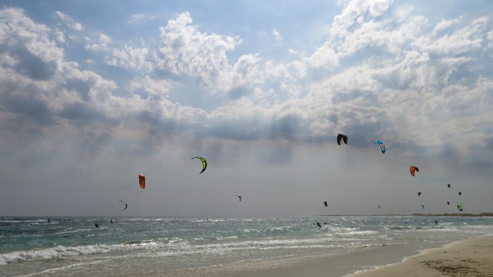 KiteSurf : sal cap-vert