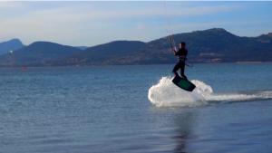 kite surf Giens 04/2016