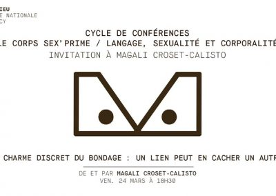 BONDAGE CONFÉRENCE BONLIEU ANNECY