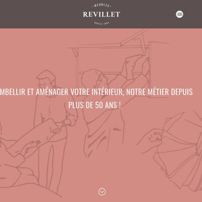 SITE WEB MEUBLES REVILLET