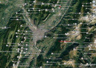 Tous les décos sur Google Earth