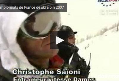 CHAMPIONNAT DE FRANCE DE SKI ALPIN 2007