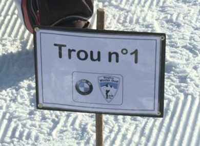 BMW MEGEVE WINTER GOLF