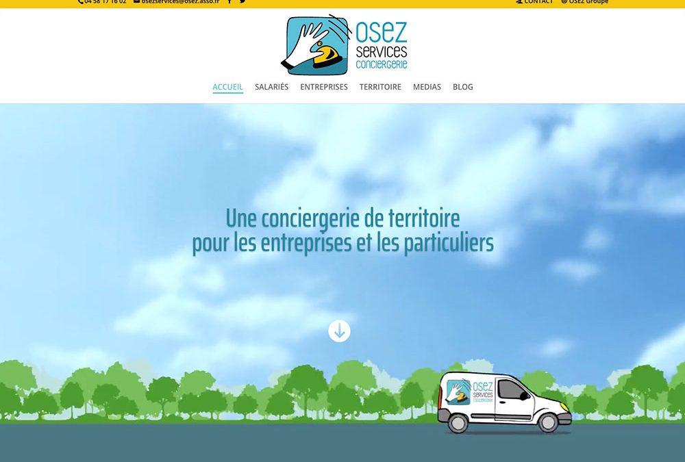 LE NOUVEAU SITE WEB DE OSEZ SERVICES
