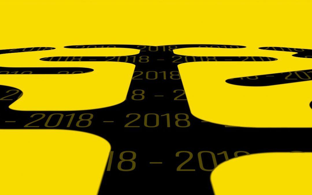 La carte de voeux en motion design du CAUE pour 2018