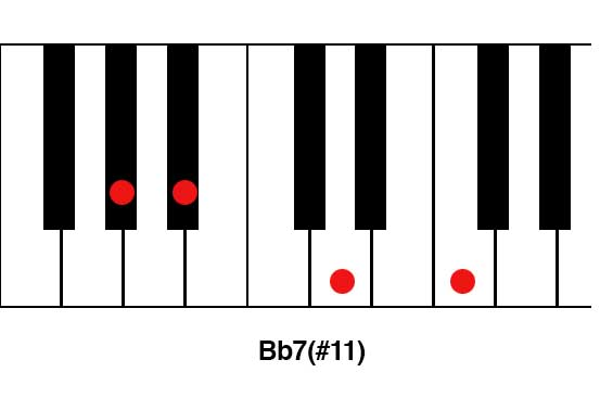 Bb7(#11)