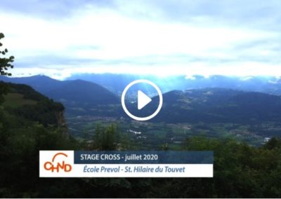 Stage cross CHVD – 20 juillet 2020