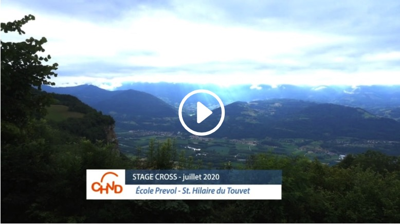 Stage Cross CHVD – juillet 2020